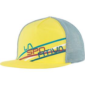 La Sportiva Stripe 2.0 Casquette trucker, lemonade/stone blue